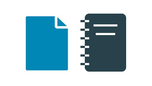 Papel de impresora, DIN-A4, papeleria de oficina
